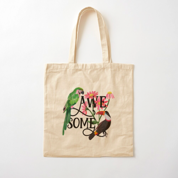 Awesome-Botanical-Hand-Lettering-Tote-Bag-Happy-People-Prints